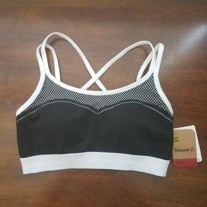 Reebok sports bra, NWT sizes S & L
